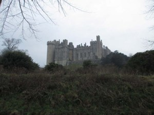 Walking home from work :) Arundel Castle